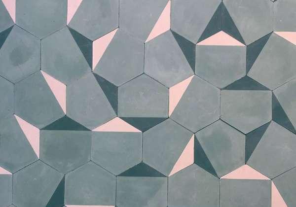 ladrilho-cinza-rosa-hexagonal